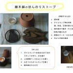 植木鉢のほんのりストーフ 藤井智佳子